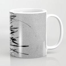 Concrete Fringe Black on Side Mug