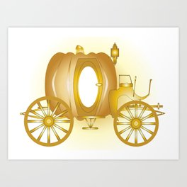 Magic Carriage Art Print