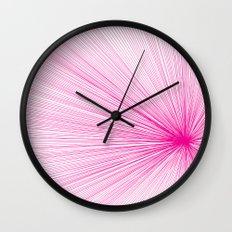 Line 2 Wall Clock