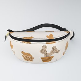 Potted cacti II Fanny Pack