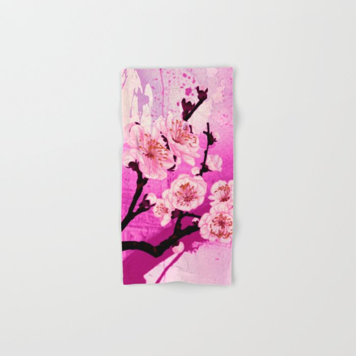fleur de pommier Hand & Bath Towel