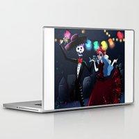dia de los muertos Laptop & iPad Skins featuring Dia de los muertos by Lenore2411