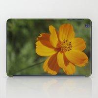rileigh smirl iPad Cases featuring Orange Flower by Rileigh Smirl