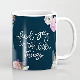 Midnight Florals - Pink & Purple Coffee Mug