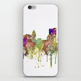 Fort Wayne, Indiana Skyline iPhone Skin