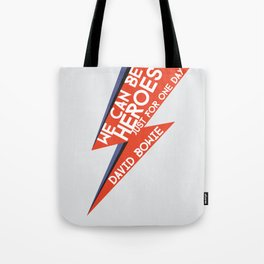 Heroes - Just for one day Tote Bag