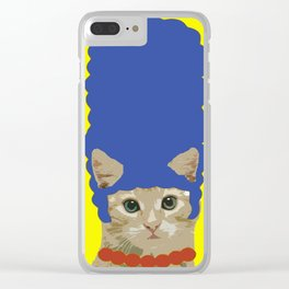 Marge Catson Clear iPhone Case