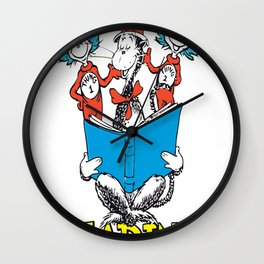 005. Reading is our things copy Wall Clock