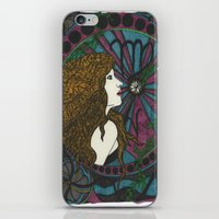 virgo iPhone & iPod Skins featuring Virgo by Laura Jean