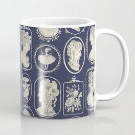 Blue Cameos Coffee Mug