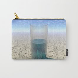 Glass of Water Carry-All Pouch