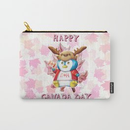 Canada Day 2019 - Eh - ALT CLR - Text Carry-All Pouch