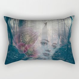 Fascinator Rectangular Pillow