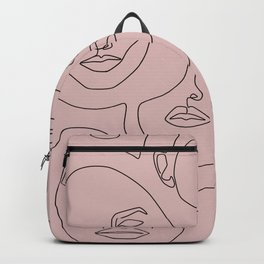 Blush Faces Backpack