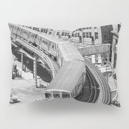 Brown Line Pillow Sham