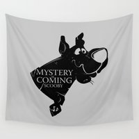 arya Wall Tapestries featuring Mystery is coming by dutyfreak