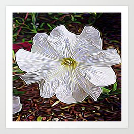 Enchanted Flower Art Print