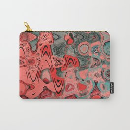Warm Abstract Carry-All Pouch