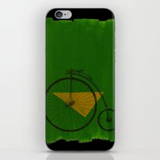 confidant III. (penny-farthing) iPhone & iPod Skin