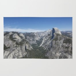 Half Dome from Glacier Point Rug