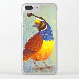 quail Clear iPhone Case