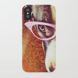 Vintage Pitbull iPhone Case