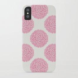 Petal Burst #10 Circles iPhone Case