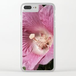 Deep Pink Clear iPhone Case