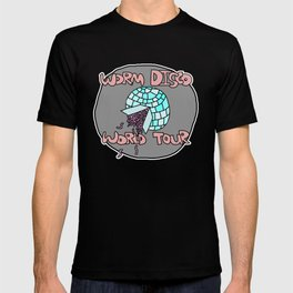 Worm Disco World Tour T-shirt