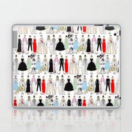 Outfits of Audrey Fashion (White) Laptop & iPad Skin