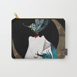 Butterfly Kiss Art Deco Remix Carry-All Pouch