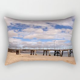 The Pier at Normanville Rectangular Pillow