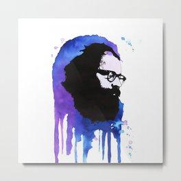 Allen Ginsberg Metal Print