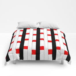 Tribute to mondrian 3- piet,geomtric,geomtrical,abstraction,de  stijl , composition. Comforters