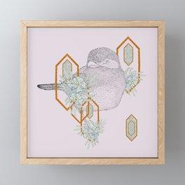 Standing Pretty Framed Mini Art Print