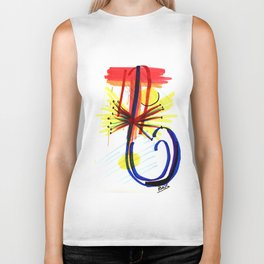 Your Favorite Song Brought to Life Biker Tank