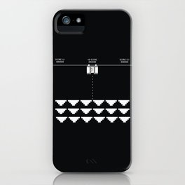 Briefs Invaders iPhone Case
