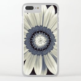 Flower B1 Clear iPhone Case