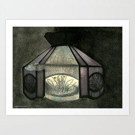 Kitchen Light Art Print