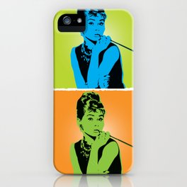 Miss Audrey iPhone Case