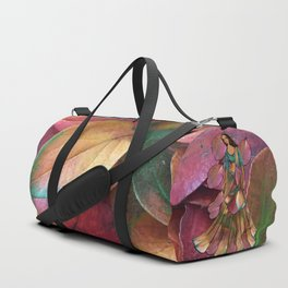 Forest Leaves in Holland Duffle Bag