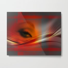 the emprisoned eye Metal Print