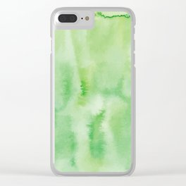 Watercolor abstract many color no.18 Clear iPhone Case