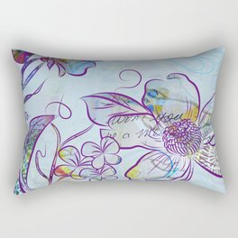 Merry Marsh Marigold Rectangular Pillow