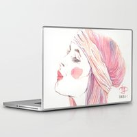 danny haas Laptop & iPad Skins featuring danny by BABA-G | arts and crafts