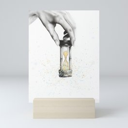 Using Time Wisely Mini Art Print