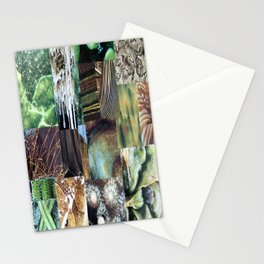 Collage - It's Not Easy Being Green Stationery Cards