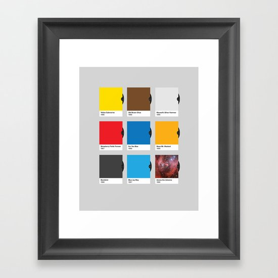 All Hue Need is Love Framed Art Print