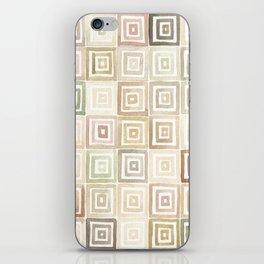 #43. DANIEL - Squares iPhone Skin