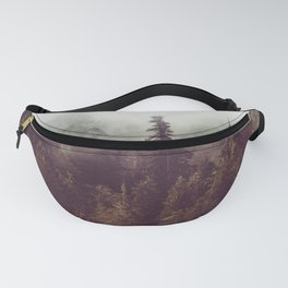 Mountain Morning Mist - Nature Photography Fanny Pack